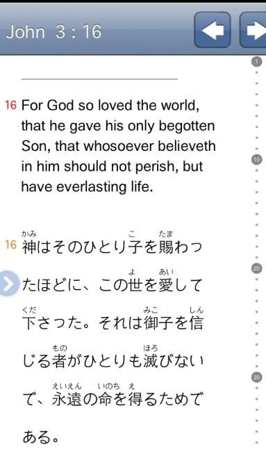John 3:16 Furigana Hiragana Bible
